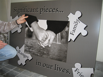 Custom Photo Puzzle for your wedding ceremony