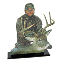 Hunting and Fishing Trophy Photo Cutout