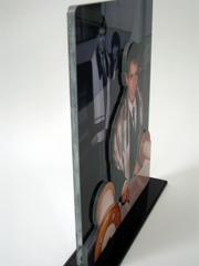 3-dimensional photo sculpture, people cutouts, personalized gift, pop outs, standup photo, standups, statuette
