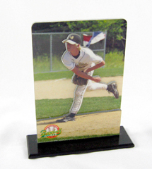 b-day gift, beautiful designs, birthday gift, pop-out, scratch resistant, sculptures, shower gift, silhouettes, smooth edges, sporting events, sports photo sculpture