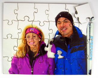 photo cut-outs, photo cutouts, photo gift, photo puzzles, scratch resistant