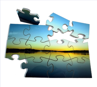 Standard photo puzzles with your images